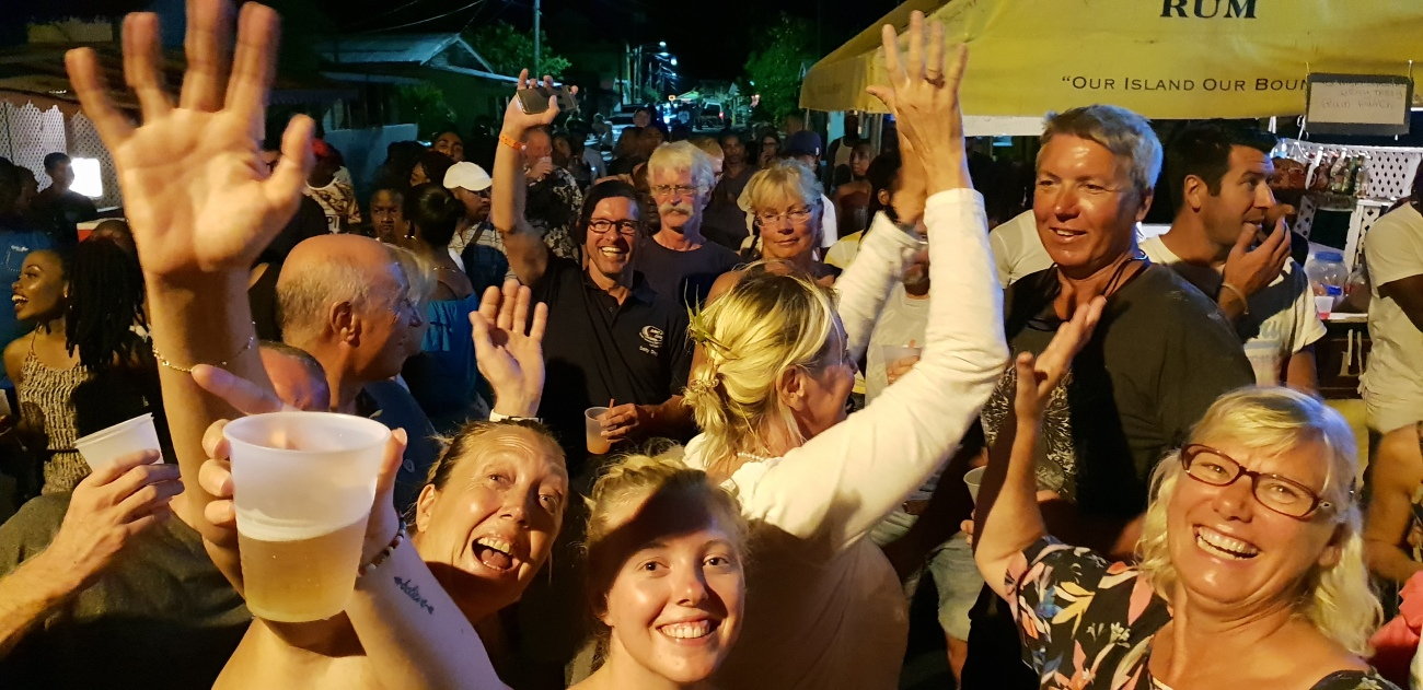 9-Feiern in St Lucia